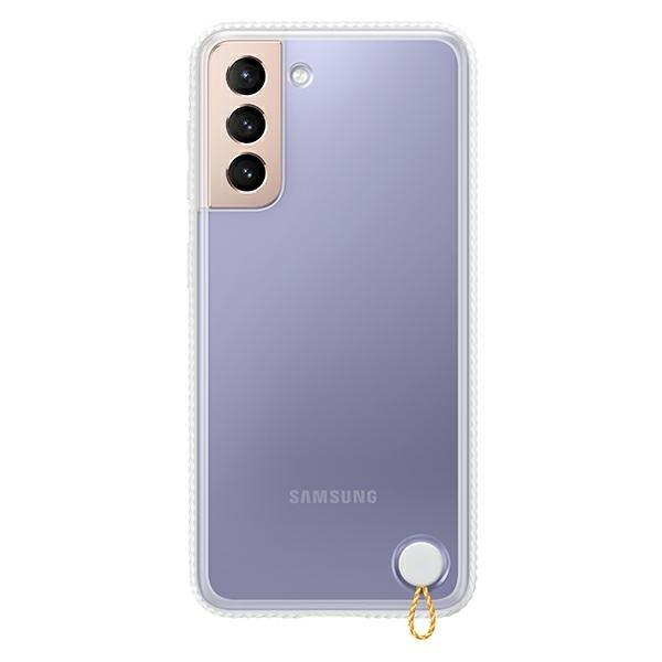 Husa Premium Originala Samsung Galaxy S21, Silicon, Transparenta - Ef-gg991cw imagine itelmobile.ro 2021