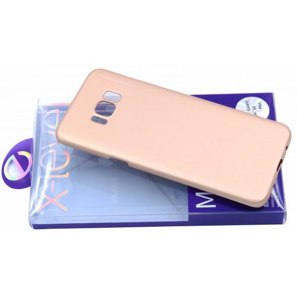Husa Spate X-level Metallic Samsung S8 G955f Plus Gold imagine itelmobile.ro 2021