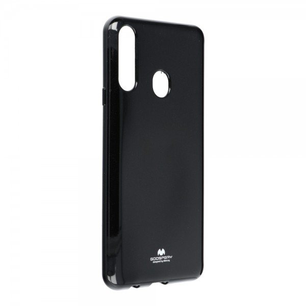 Husa Spate Jelly Case Mercury Goospery Metal Compatibila Cu Samsung Galaxy A20s, Silicon, Negru imagine itelmobile.ro 2021