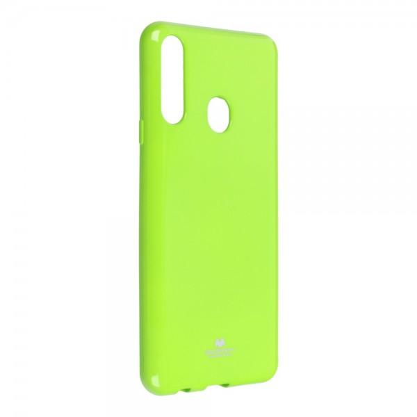 Husa Spate Jelly Case Mercury Goospery Metal Compatibila Cu Samsung Galaxy A20s, Silicon, Lime imagine itelmobile.ro 2021