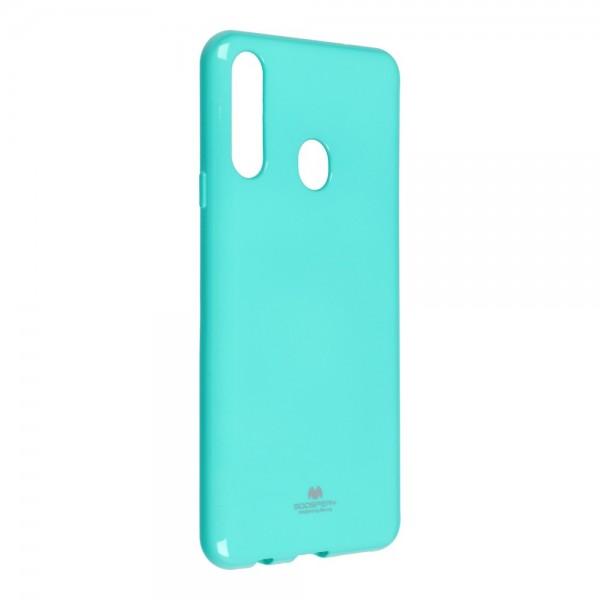 Husa Spate Jelly Case Mercury Goospery Metal Compatibila Cu Samsung Galaxy A20s, Silicon, Verde Menta imagine itelmobile.ro 2021