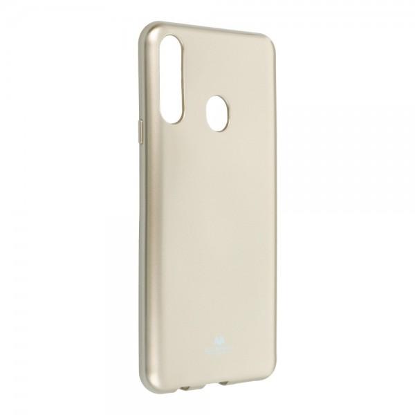Husa Spate Jelly Case Mercury Goospery Metal Compatibila Cu Samsung Galaxy A20s, Silicon, Gold imagine itelmobile.ro 2021
