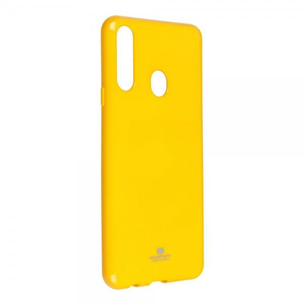 Husa Spate Jelly Case Mercury Goospery Metal Compatibila Cu Samsung Galaxy A20s, Silicon, Galben imagine itelmobile.ro 2021