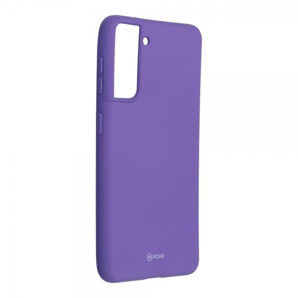 Husa Spate Silicon Roar Jelly Compatibila Cu Samsung Galaxy S21, Mov imagine itelmobile.ro 2021