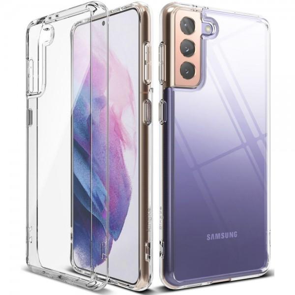 Husa Premium Ringke Fusion Samsung Galaxy S21, Transparenta imagine itelmobile.ro 2021