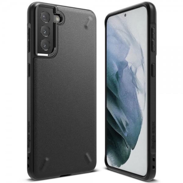 Husa Premium Ringke Fusion Onyx Pentru Samsung Galaxy S21+ Plus, Negru imagine itelmobile.ro 2021