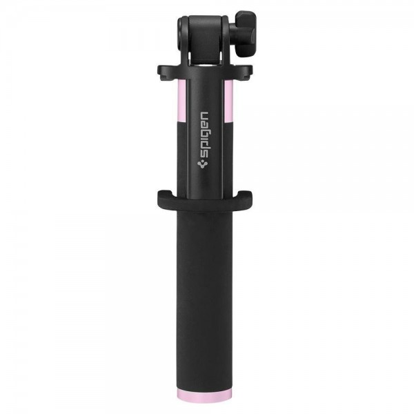Selfie Stick Original Spigen Wireless S530w, Negru Roz imagine itelmobile.ro 2021