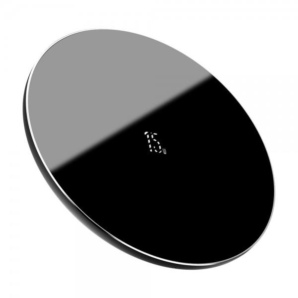 Incarcator Wireless Ultra Slim Baseus Quick Charger 15w, Negru - Wxjk-b01 imagine itelmobile.ro 2021