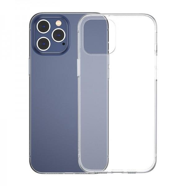 Husa Slim Baseus Simple Pentru iPhone 12 Pro Max, Transparenta, Silicon imagine itelmobile.ro 2021