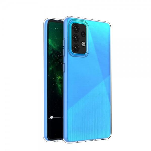 Husa Spate Slim Upzz Pentru Samsung Galaxy A52 5g, 0.5mm Grosime, Silicon, Transparenta imagine itelmobile.ro 2021