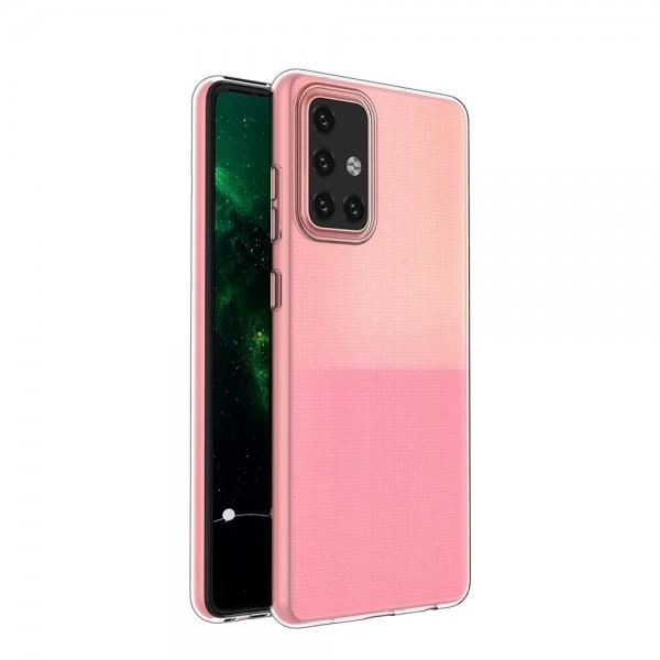 Husa Spate Slim Upzz Pentru Samsung Galaxy A72 5g, 0.5mm Grosime, Silicon, Transparenta imagine itelmobile.ro 2021