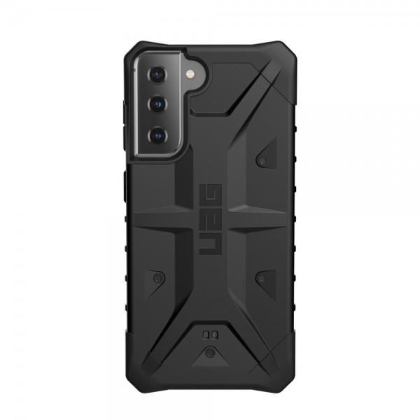 Husa Premium Urban Armor Gear Pathfinder Pentru Samsung Galaxy S21 Plus, Negru imagine itelmobile.ro 2021