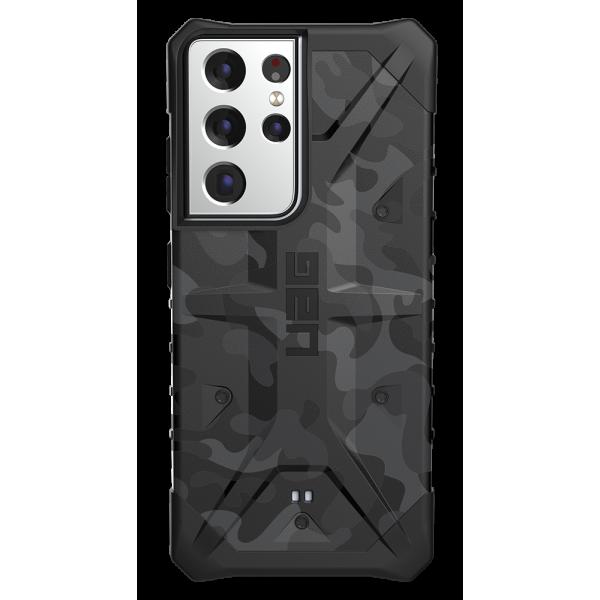Husa Premium Urban Armor Gear Pathfinder Pentru Samsung Galaxy S21 Ultra, Camo imagine itelmobile.ro 2021