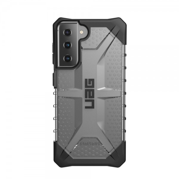 Husa Premium Urban Armor Gear Plasma Pentru Samsung Galaxy S21, Transparent imagine itelmobile.ro 2021