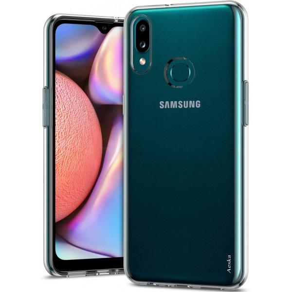 Husa Spate Slim Upzz Pentru Samsung Galaxy A10s, 0.5mm Grosime, Silicon, Transparenta imagine itelmobile.ro 2021