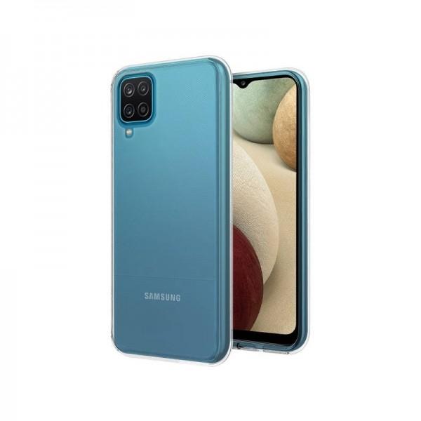 Husa Spate Slim Upzz Pentru Samsung Galaxy A12, 0.5mm Grosime, Silicon, Transparenta imagine itelmobile.ro 2021