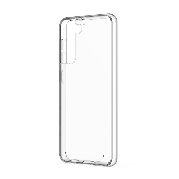 Husa Spate Slim Upzz Pentru Samsung Galaxy S21, 0.5mm Grosime, Silicon, Transparenta imagine itelmobile.ro 2021