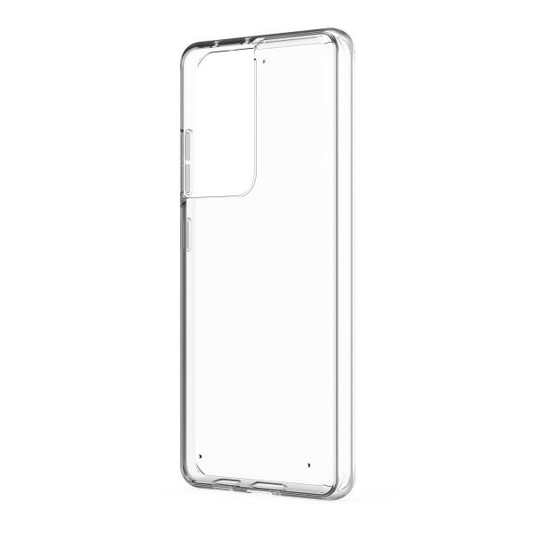 Husa Spate Slim Upzz Pentru Samsung Galaxy S21 Plus, 0.5mm Grosime, Silicon, Transparenta imagine itelmobile.ro 2021