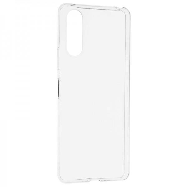 Husa Spate Slim Upzz Pentru Sony Xperia 10 Ii, 0.5mm Grosime, Silicon, Transparenta imagine itelmobile.ro 2021