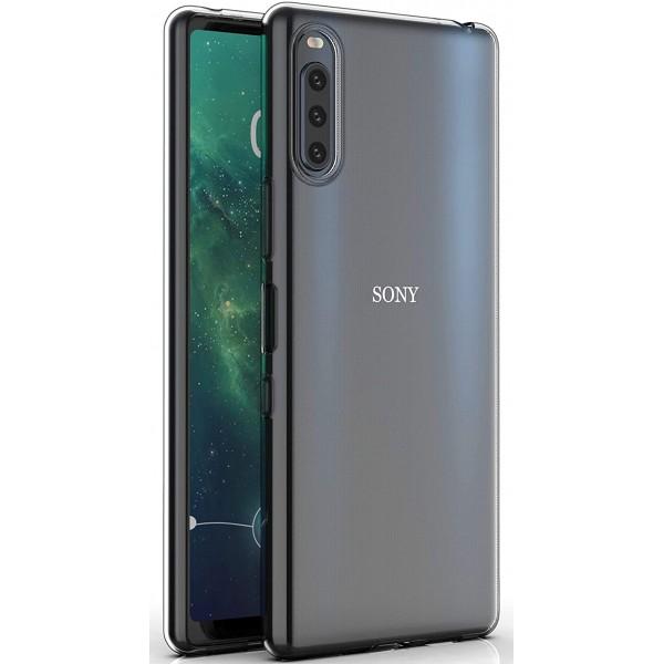 Husa Spate Slim Upzz Pentru Sony Xperia L4, 0.5mm Grosime, Silicon, Transparenta imagine itelmobile.ro 2021