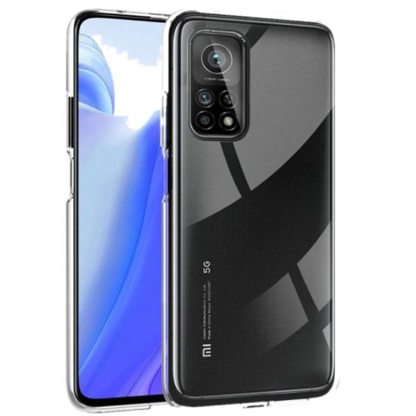 Husa Spate Slim Upzz Pentru Xiaomi Mi 10t 5g / Mi 10t Pro 5g, 0.5mm Grosime, Silicon, Transparenta imagine itelmobile.ro 2021