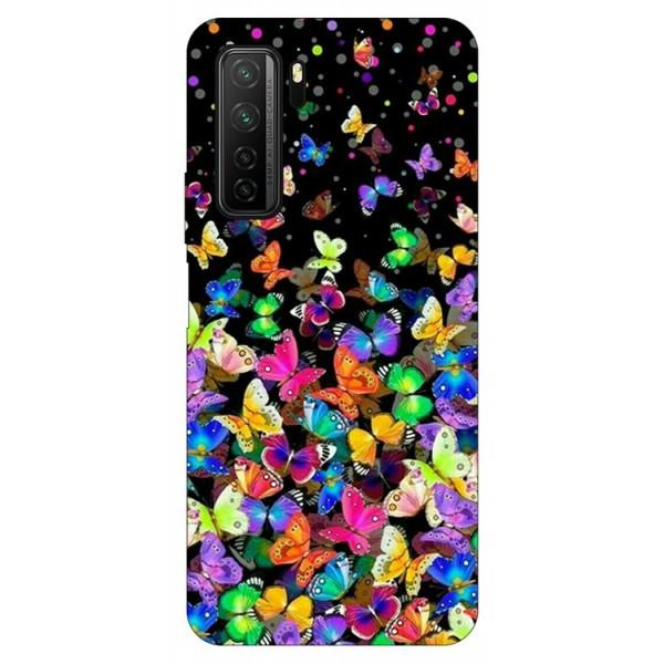 Husa Silicon Soft Upzz Print Compatibila Cu Huawei P40 Lite 5g Model Colorature imagine itelmobile.ro 2021