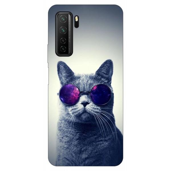 Husa Silicon Soft Upzz Print Compatibila Cu Huawei P40 Lite 5g Model Cool Cat imagine itelmobile.ro 2021