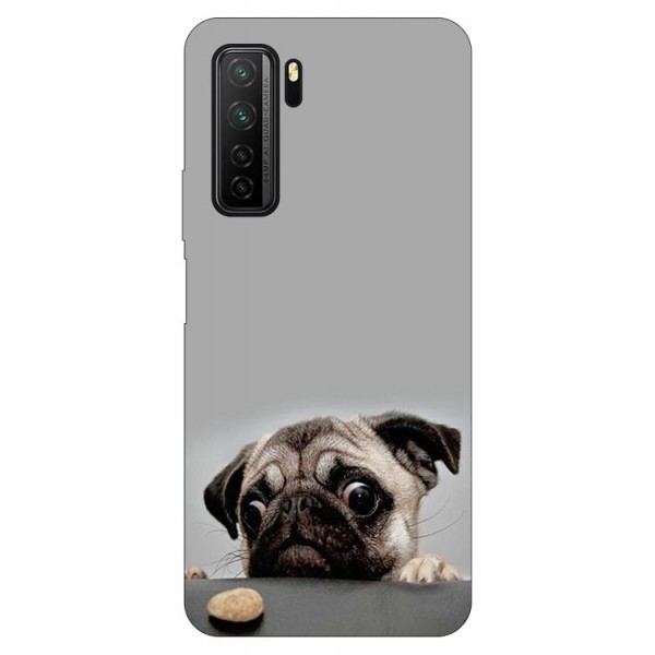 Husa Silicon Soft Upzz Print Compatibila Cu Huawei P40 Lite 5g Model Dog imagine itelmobile.ro 2021