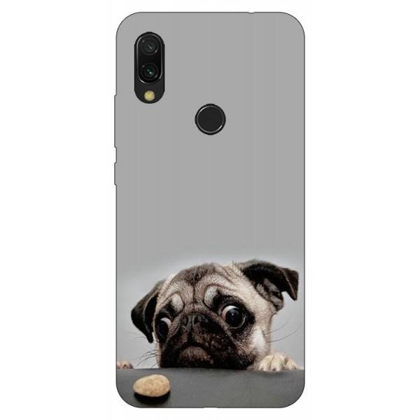 Husa Silicon Soft Upzz Print Compatibila Cu Xiaomi Redmi 7 Model Dog imagine itelmobile.ro 2021