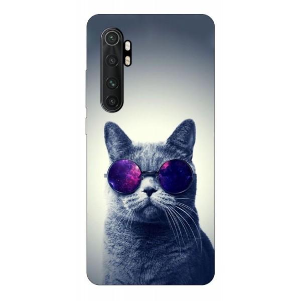 Husa Silicon Soft Upzz Print Compatibila Cu Xiaomi Mi Note 10 Lite Model Cool Cat imagine itelmobile.ro 2021