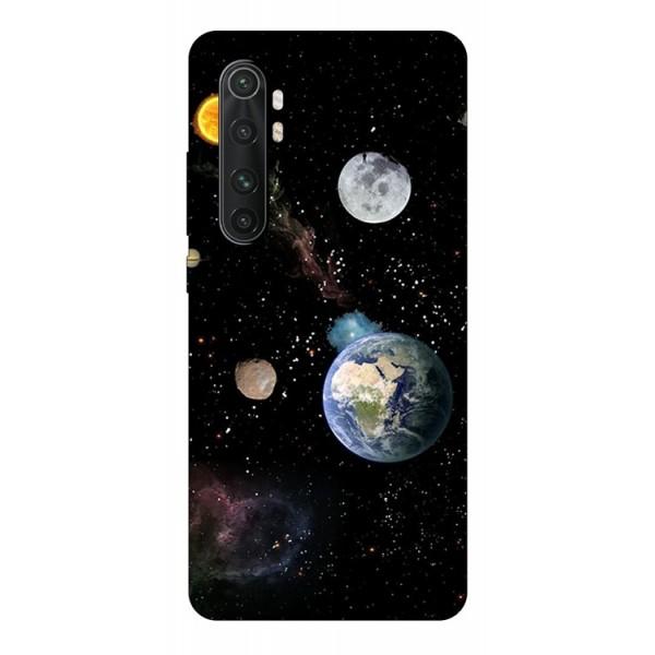 Husa Silicon Soft Upzz Print Compatibila Cu Xiaomi Mi Note 10 Lite Model Earth imagine itelmobile.ro 2021