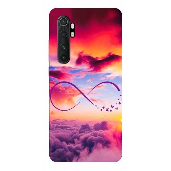 Husa Silicon Soft Upzz Print Compatibila Cu Xiaomi Mi Note 10 Lite Model Infinity imagine itelmobile.ro 2021