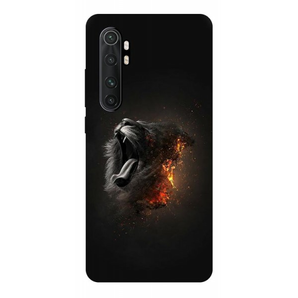 Husa Silicon Soft Upzz Print Compatibila Cu Xiaomi Mi Note 10 Lite Model Lion imagine itelmobile.ro 2021
