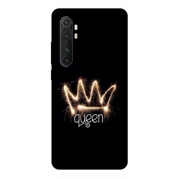 Husa Silicon Soft Upzz Print Compatibila Cu Xiaomi Mi Note 10 Lite Model Queen imagine itelmobile.ro 2021