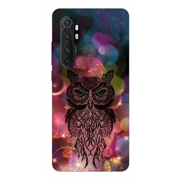 Husa Silicon Soft Upzz Print Compatibila Cu Xiaomi Mi Note 10 Lite Model Sparkle Owl imagine itelmobile.ro 2021