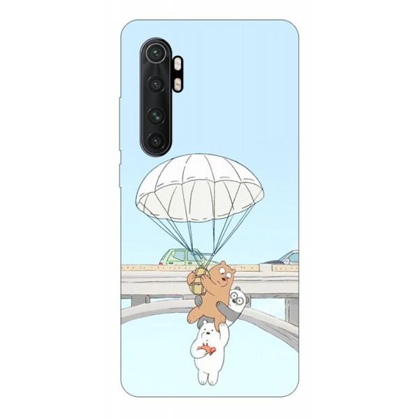 Husa Silicon Soft Upzz Print Compatibila Cu Xiaomi Mi Note 10 Lite Model Three Bears imagine itelmobile.ro 2021