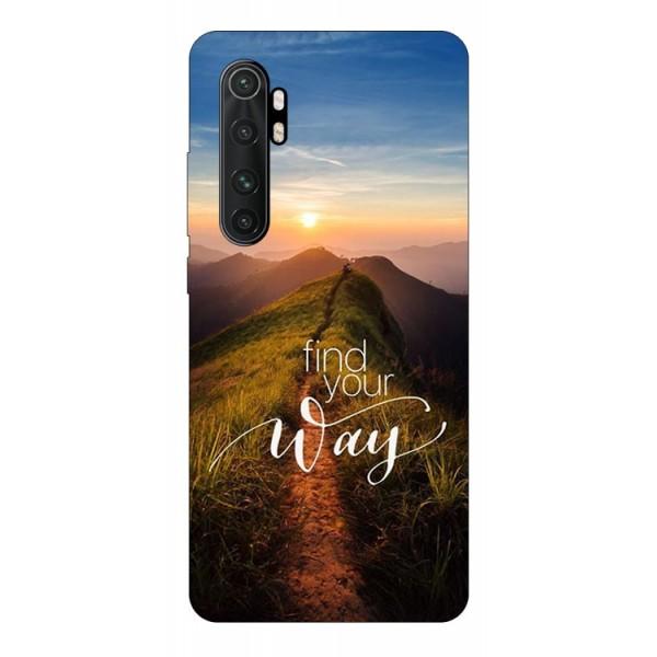 Husa Silicon Soft Upzz Print Compatibila Cu Xiaomi Mi Note 10 Lite Model Way imagine itelmobile.ro 2021