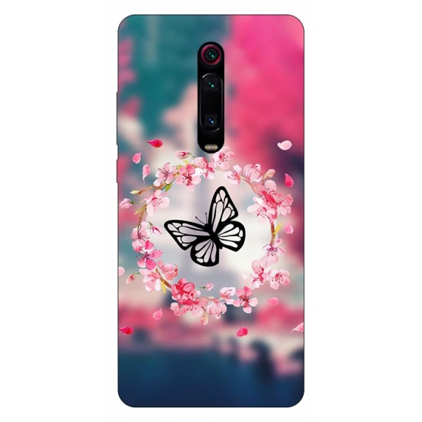 Husa Silicon Soft Upzz Print Compatibila Cu Xiaomi Redmi 9t Model Butterfly imagine itelmobile.ro 2021