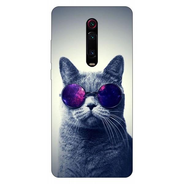 Husa Silicon Soft Upzz Print Compatibila Cu Xiaomi Redmi 9t Model Cool Cat imagine itelmobile.ro 2021