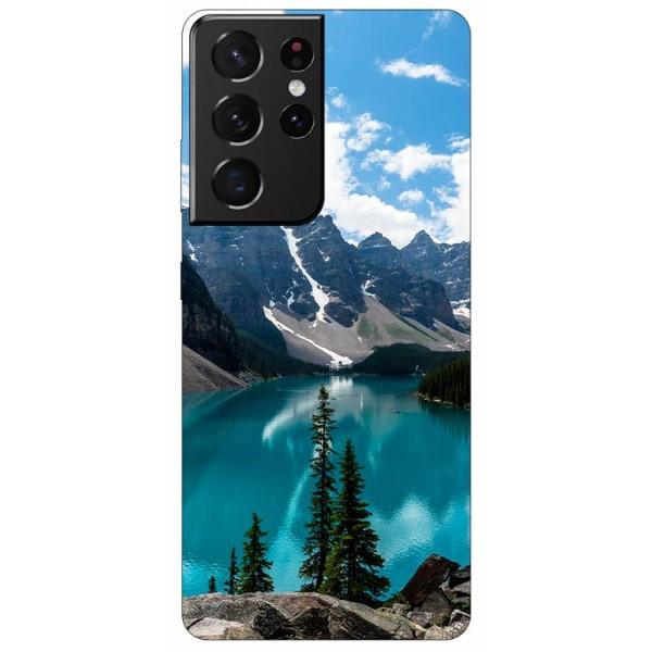 Husa Silicon Soft Upzz Print Compatibila Cu Samsung Galaxy S21 Ultra Model Blue imagine itelmobile.ro 2021