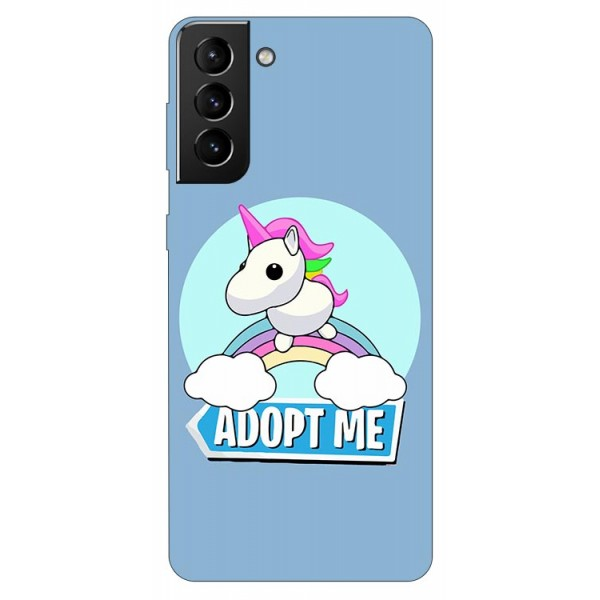 Husa Silicon Soft Upzz Print Compatibila Cu Samsung Galaxy S21 Plus Model Pink Unicorn imagine itelmobile.ro 2021