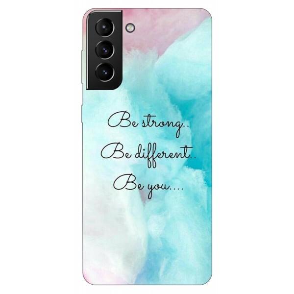 Husa Silicon Soft Upzz Print Compatibila Cu Samsung Galaxy S21 Model Be You imagine itelmobile.ro 2021