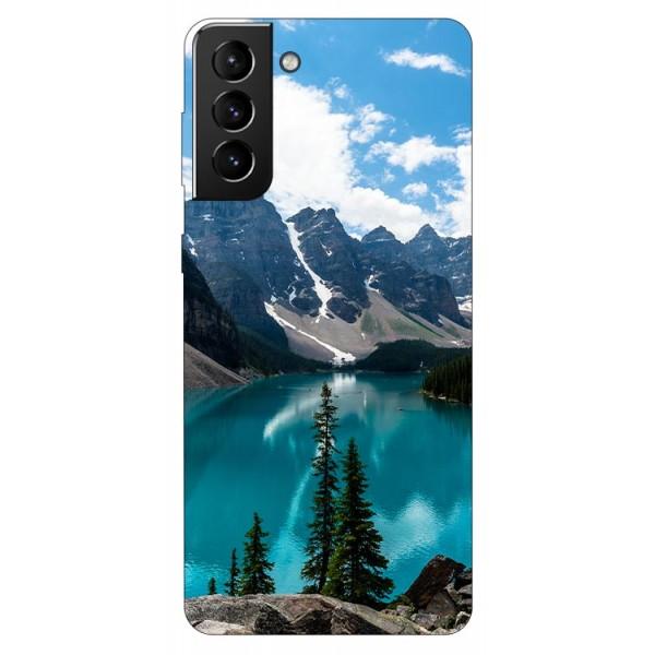 Husa Silicon Soft Upzz Print Compatibila Cu Samsung Galaxy S21 Model Blue imagine itelmobile.ro 2021
