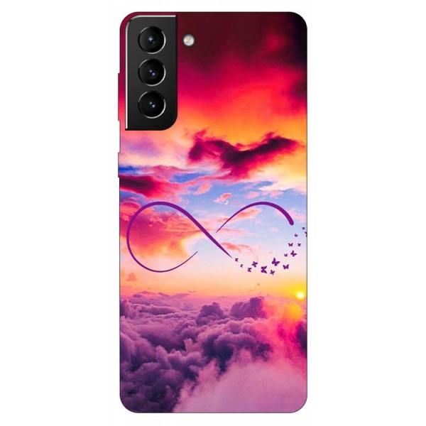 Husa Silicon Soft Upzz Print Compatibila Cu Samsung Galaxy S21 Model Infinity imagine itelmobile.ro 2021