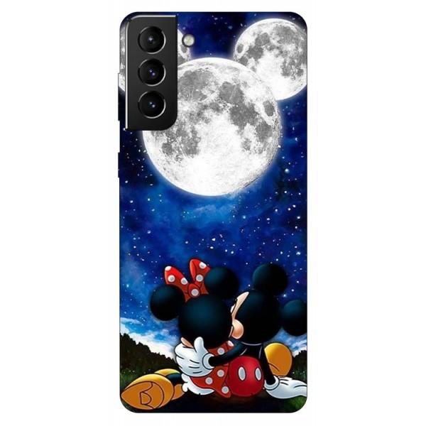 Husa Silicon Soft Upzz Print Compatibila Cu Samsung Galaxy S21 Model Moon imagine itelmobile.ro 2021