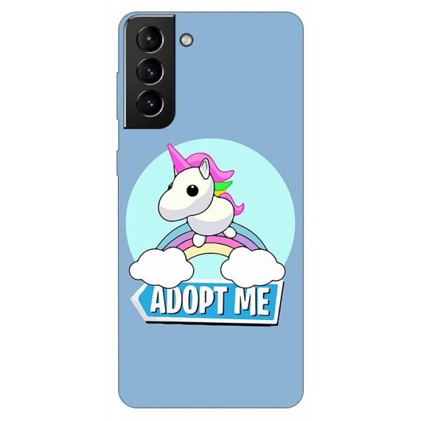 Husa Silicon Soft Upzz Print Compatibila Cu Samsung Galaxy S21 Model Pink Unicorn imagine itelmobile.ro 2021