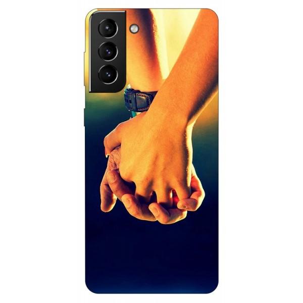 Husa Silicon Soft Upzz Print Compatibila Cu Samsung Galaxy S21 Model Together imagine itelmobile.ro 2021