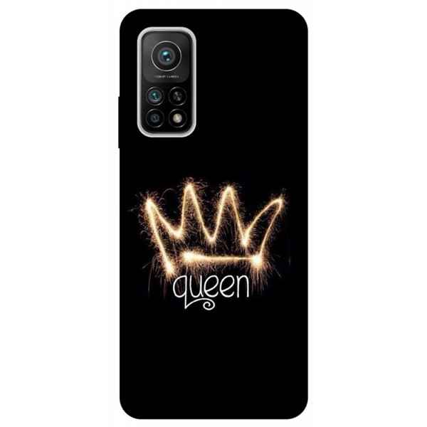 Husa Silicon Soft Upzz Print Compatibila Cu Xiaomi Mi 10t / Mi 10t Pro Model Queen imagine itelmobile.ro 2021