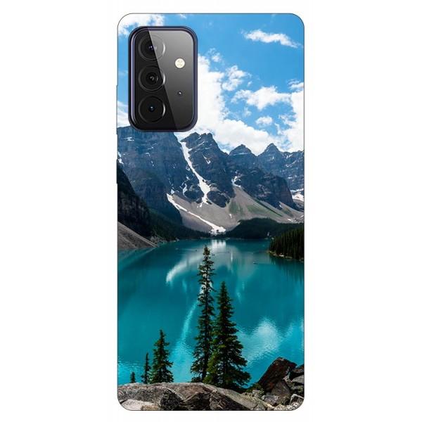 Husa Silicon Soft Upzz Print Compatibila Cu Samsung Galaxy A72 5g Model Blue imagine itelmobile.ro 2021