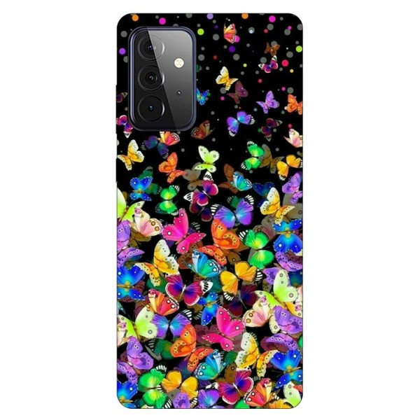 Husa Silicon Soft Upzz Print Compatibila Cu Samsung Galaxy A72 5g Model Colorature imagine itelmobile.ro 2021